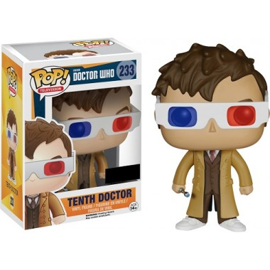 10th Doctor 3D Bril Exclusive