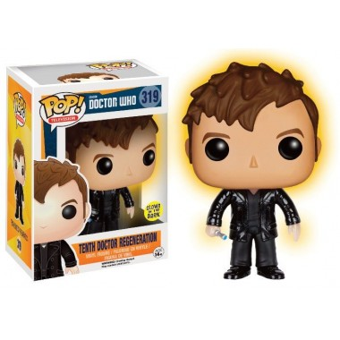 10th Doctor Regeneration Glow in the Dark Exclusive
